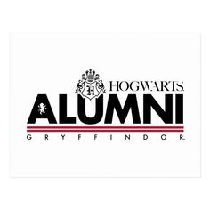 Harry Potter | HOGWARTS™ Alumni GRYFFINDOR™ Postcard | Zazzle.com