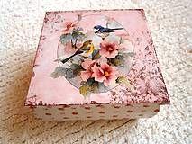 Krabičky - krabička - šperkovnica - 4692340_