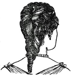 Victorian hairstyles: Fluffy curls (1890) - Click Americana