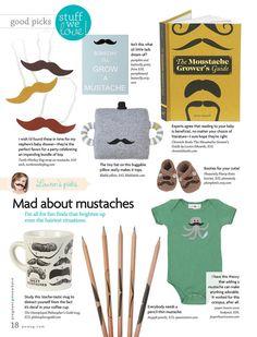 Mustache Print  Children's Art Print Poster by pumpkinandbutterfly, $18.00