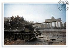 T-34/85, Berlin, 1945.