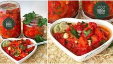 Köz Biber Turşusu Tarifi Salsa, Pizza, Chicken, Meat, Ethnic Recipes, Food, Gravy, Salsa Music, Restaurant Salsa