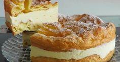 "Un desert frumos și incredibil de gustos: tort polonez ""Pani Walewska"" - Bucatarul Ukrainian Recipes, Russian Recipes, No Cook Desserts, Dessert Recipes, Pastry Recipes, Cooking Recipes, Napoleon Cake, European Cuisine, Sweet Pastries"