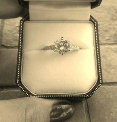 2.17CT Round Brilliant Diamond Wedding Ring Appraised GIA @ $24,900. - $4700