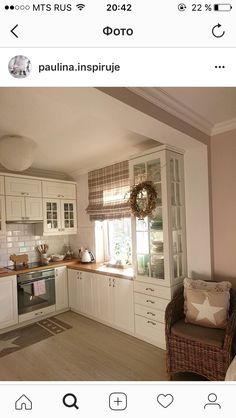 Home Decor Kitchen, Rustic Kitchen, Kitchen Interior, New Kitchen, Interior Design Living Room, Home Kitchens, Küchen Design, House Design, Cuisines Design