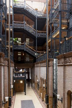 The Bradbury Building is one of our picks for the must-see architectural landmarks in Los Angeles, California. See the rest now.