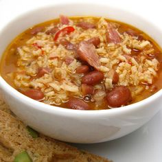 Red Beans & Rice Soup by katbaro, via Flickr