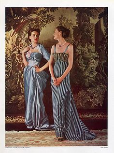 Christian Dior 1948 Paquin, Evening Gown