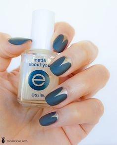 matte about you - nail art by essie looks