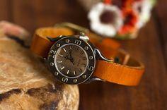 Roman Leather Watch
