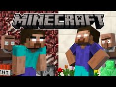 If Herobrine Had A Brother - Minecraft Animation Funny Minecraft Videos, Monster School, A Brother, Legos, Iris, Ted, Haha, Mystery, Preschool
