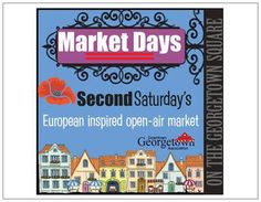 Georgetown, Texas Market Days are the best way to find more ideas for crafts