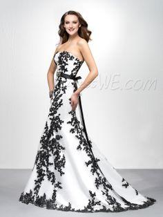 Brilliant Mermaid/Trumpet Floor-length Lace-up Embroidery Prom Dress 10882072 - Prom Dresses 2014 - Dresswe.Com