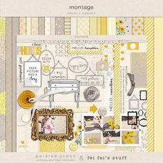 Montage by Fei Fei's Stuff   paislee press