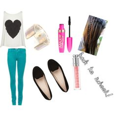 back to school outfit #2! - Polyvore