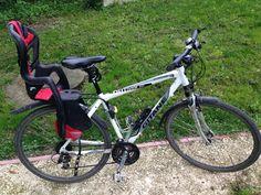 Location vélo VTC GITANE Homme > 175 cmAvec siège bébé. Location Vélo VTC GITANE Homme avec siège bébé Villethierry (89140)