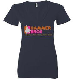 Women's Donut Shop ripoff T-shirt