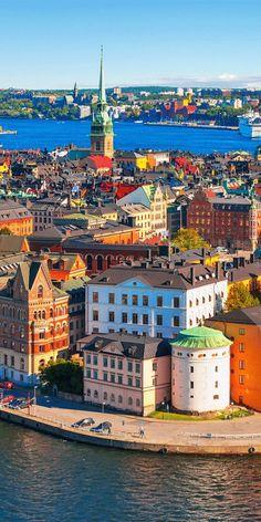 Ville de Stockholm, en Suède
