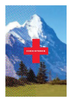 """Alliance Graphique Internationale 2015 """"Coexistence"""" Poster - Graphis"""