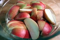 keep apples from browning