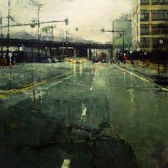 Jeremy Mann, oil on panel
