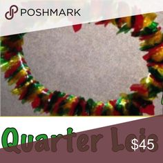 Graduation Leis Quarter Lei's. May choose 2-3 colors and product has $25 worth of quarters. Please allow 2 weeks for product to be made. Other
