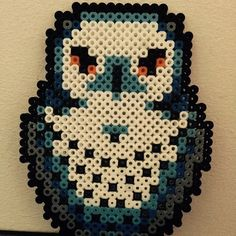 Hedwig Harry Potter hama beads by Tina Toft