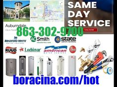 Emergency Hot Water Heater Repair In Auburndale FL Same Day Installation... Mobile Mechanic, Lakeland Florida, Car Repair Service, Real Estate Services, The Help, Day, Water, Davenport Florida, Facebook