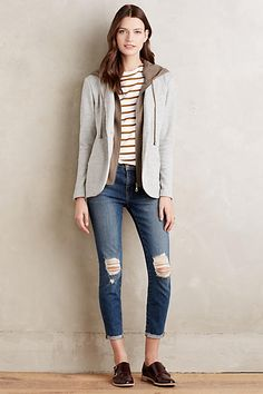 Layered Campus Jacket - anthropologie.com