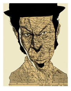 Tom Waits! New Limited Edition Prints by Thomas Seltzer, via Behance