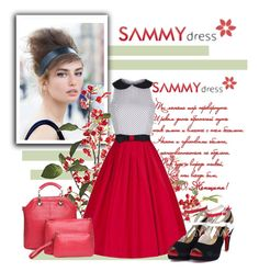 """Sammydress II/24."" by marinadusanic ❤ liked on Polyvore featuring Pier 1 Imports, women's clothing, women, female, woman, misses, juniors and sammydress"