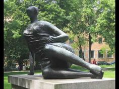 Henry Spencer Moore 1898- 1986    Henry Moore was an English sculptor best known for his abstract monumental bronze sculptures which are located around the world as public works of art.