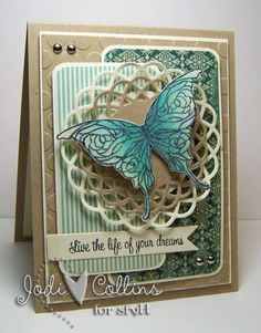 Live The Life of Your Dreams! by Kharmagirl - Cards and Paper Crafts at Splitcoaststampers