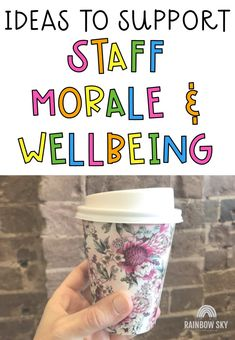A staff that work together and feel valued are an educational team that is fun to be around & provide school experiences for their students like none other. Creating new ideas to build staff morale will always be appreciated. Here is a list of our favourite ways to support staff wellbeing, build morale and overall have fun as a teaching team at school. Employee Appreciation Gifts, Teacher Appreciation Week, Teacher Gifts, Teacher Morale, Staff Morale, Morale Boosters, Teacher Memes, Too Cool For School, Fun At Work