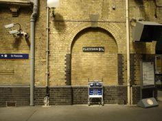 King's Cross Station, made more famous by Harry Potter.