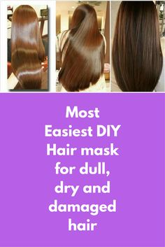 Most Easiest DIY Hair mask for dull, dry and damaged hair To take care of hair is most difficult task today because of the pollution in our surrounding, our hair gets frizzy, dry and damaged. I am sharing DIY homemade hair mask for dry hair. For this hair mask, you will need- Coconut oil Riped banana Honey Net cloth/blender Method- 1. Take a clean bowl, and …
