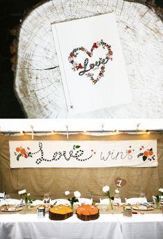 Love wins stationary + banner / valleyandnorfolk