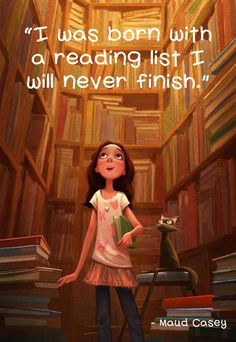 Born with a reading list�
