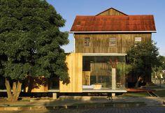 Museu do Pão - Moinho Colognese - Ilópolis, RS / Brasil Arquitetura