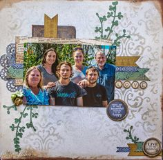 """Kaisercraft """"Storybook"""" Scrapbook Page Layouts, Scrapbook Cards, Close To My Heart, Ranges, Scrapbooks, Aunt, Business Cards, Projects To Try, Friends"""