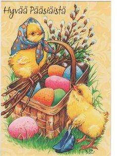 See it on a Postcard: Happy Easter Easter Art, Easter Eggs, Easter Bunny, Vintage Cards, Vintage Postcards, Easter Greeting Cards, Paint Cards, Easter Traditions, 8th Of March