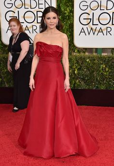 Catherine Zeta-Jones Catherine Zeta-Jones arrives at the 72nd annual Golden Globe Awards at the Beverly Hilton Hotel on Sunday, Jan. 11, 2015, in Beverly Hills, Calif. (Photo by John Shearer/Invision/AP)