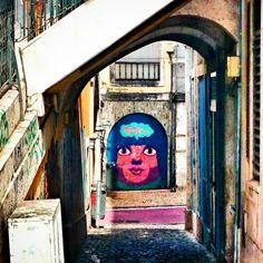 Street art, Lisbon face