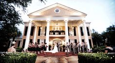 6 Romantic New Orleans Wedding Venues  on Borrowed & Blue.  Photo Credit: Stacy Marks Photography