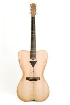 Celentano woodworks Female Form 6 string acoustic guitar