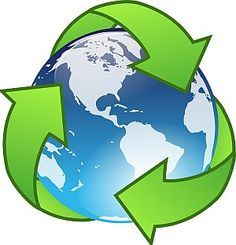 This is obviously an emblem to represent Recycling. However, am using it to signify my green lifestyle. The preservation of earth is very important to me. So much so that I may consider working in the environmental field.