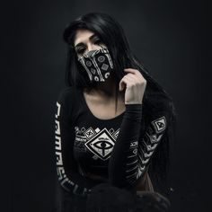 Cyberpunk Girl, Cyberpunk Fashion, Awsome Pictures, Girl Pictures, Thug Girl, Street Goth, Dark Portrait, Gangster Girl, Couple Outfits