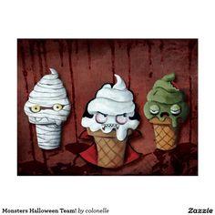 Monsters Halloween Team!