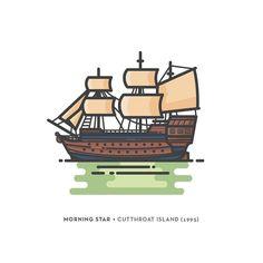Pirate ships on #behance  http://ift.tt/26DA6nW . . . . .  #graphicdesigner #graphicdesign #flatdesign #graphic #icon #illustration #designinspiration #digitalart #vector #pirate #iconaday #pirates #artsy #instaart #graphicdesigncentral #simplycooldesign #pirategraphic #visforvector #designspiration #dribbble #nerd #geek #graphicroozane #pirateship #cutthroat #ship #vessel #vectorart #island by tophat_design