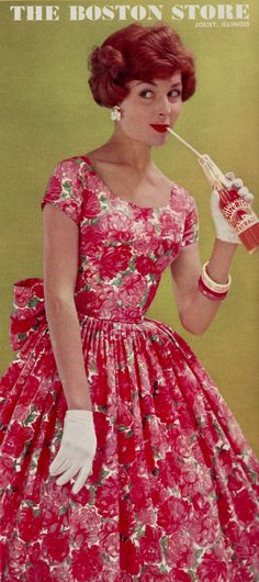 https://flic.kr/p/GKb263 | Teena Paige for the Boston Store 1959